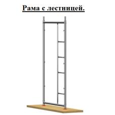 Рама с лестницей (для подъема на верх)