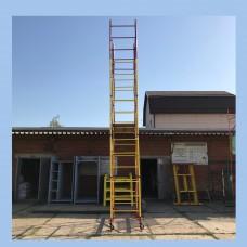 Вышка-тура (0,7м х 1,6м), Высота 7,6м