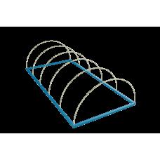 Стеклопластиковые дуги диаметром 4-8 мм для тоннельных парников
