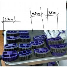 Ножки заглушки для лестниц 71мм
