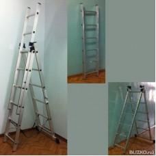 Лестница алюминиевая для крыши