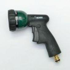 Разбрызгиватель в виде пистолета латунь Rehau ПРЕМИУМ (на подложке) насадка