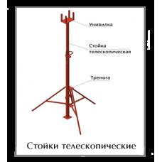 Стойки телескопические